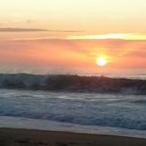 coucher soleil landes